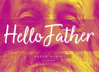 Hello Father Script Font