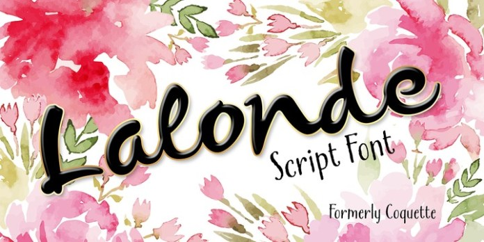 Lalonde Font