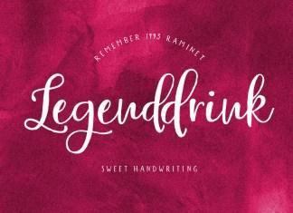 Legenddrink Script Font