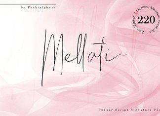 Mellati - Luxury Script Signature