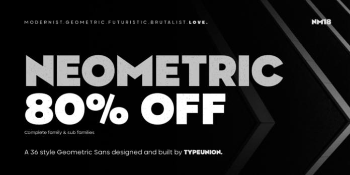 Neometric Font Family