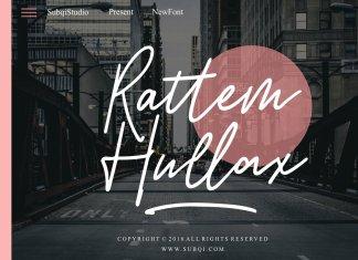 Rattem Hullax Script Font