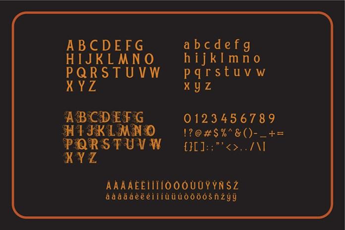 REXMONERegular Font