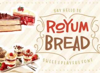 Royum Bread Font