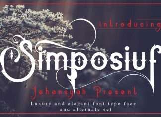 SimposiufOther Font
