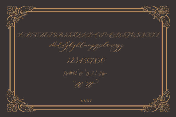 Sinter Secret Font