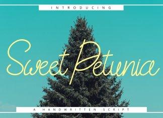 Sweet Petunia Handwirtten Script
