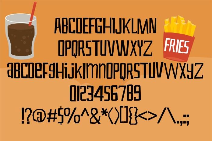ZP Hangry Regular Font
