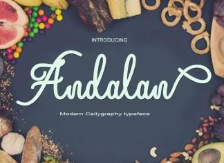 AndalanScript Font