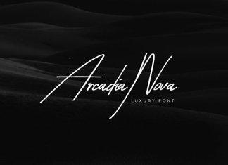 Arcadia-Nova Handwritten Luxury Font