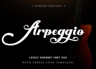 Arpeggio Duo Font