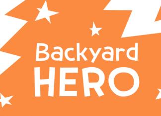 Backyard Hero Font