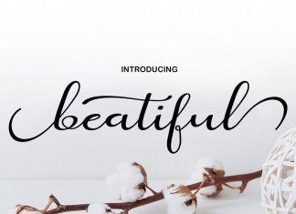 beatifulS cript Font
