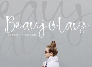 Beaujolais | Handwritten Font