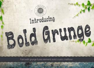 Bold Grunge Regular Font