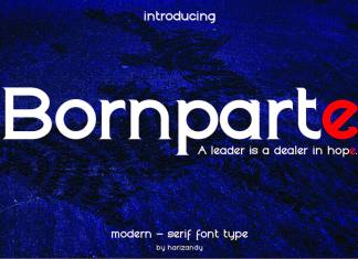 Bornparte Regular Font