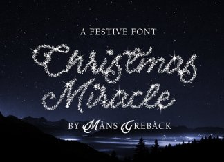 Christmas Miracle Font