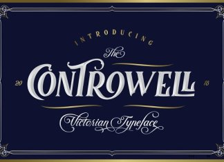 Controwell Victorian Typeface Font