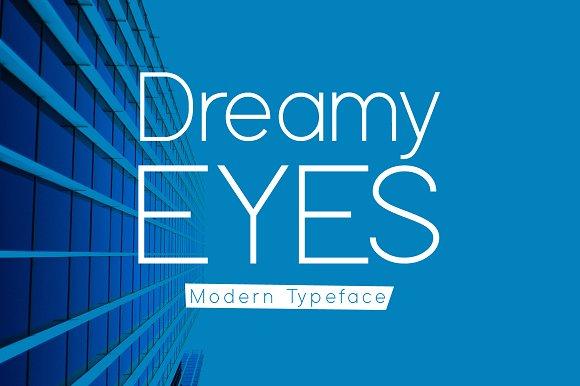 Dreamy Eyes Typeface