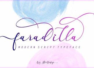 Faradilla / Beautiful Script