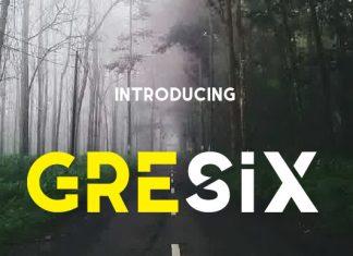 Gresix Font