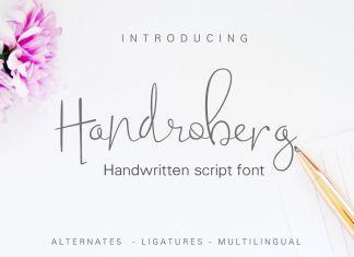 Handroberg Script Font
