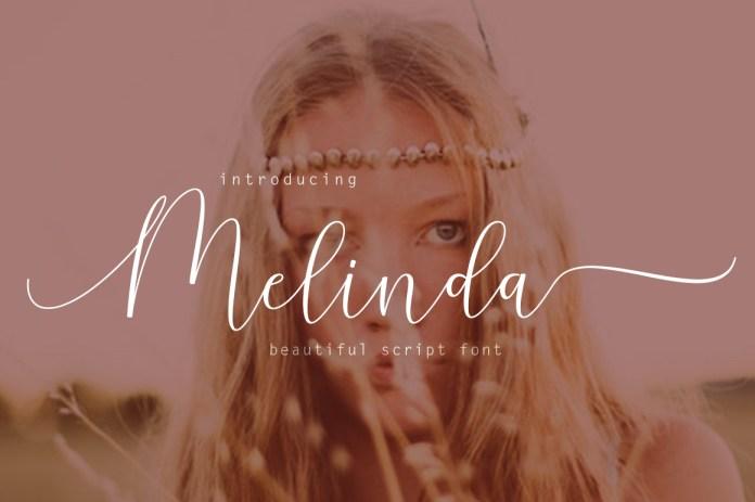 Melinda Script Font