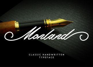 Monland Script | Classic HandwrittenScript Font