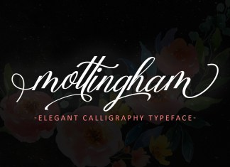Mottingham Elegant Script Font