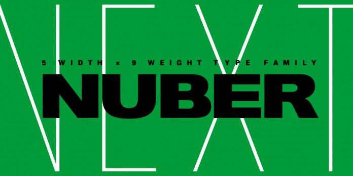 Nuber Next Font Family