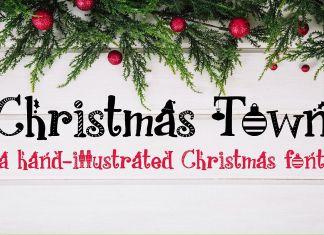 PN Christmas TownRegular Font