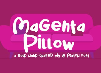 PN Magenta Pillow Regular Font