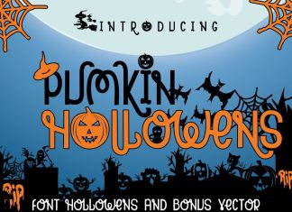 PUMKIN HOLLOWENSOther Font