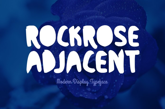 Rockrose Adjacent Regular Font