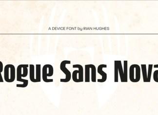 Rogue Sans Nova Font Family