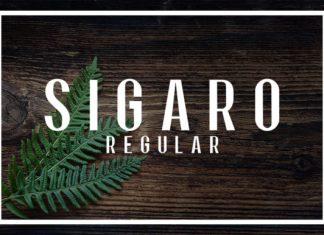 Sigaro Font