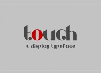 Touch Font