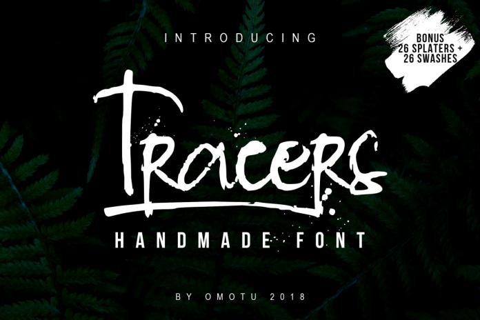 Tracers - Handmade Script FontScript Font