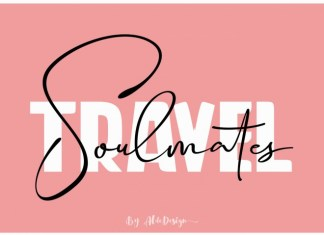 Travel Soulmates Duo Font