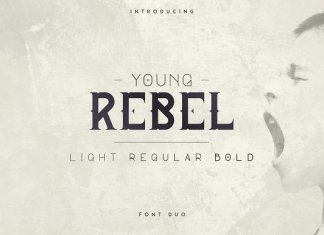 Young Rebel Font Duo