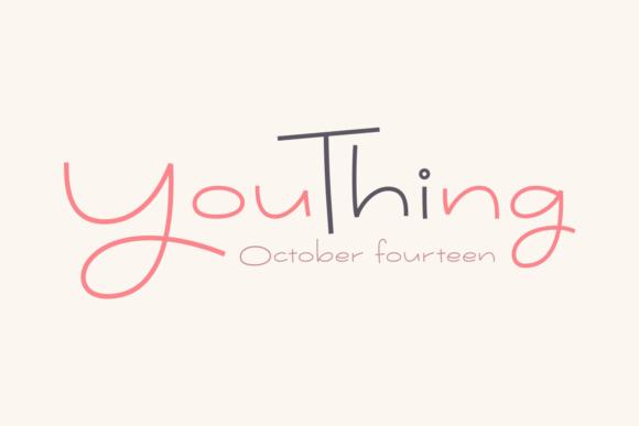 Youthing October Fourteen