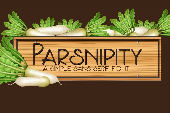 ZP ParsnipityRegular Font