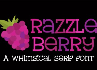 ZP Razzle Berry Regular Font