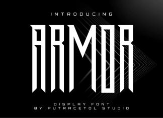 ARMORLogo Font