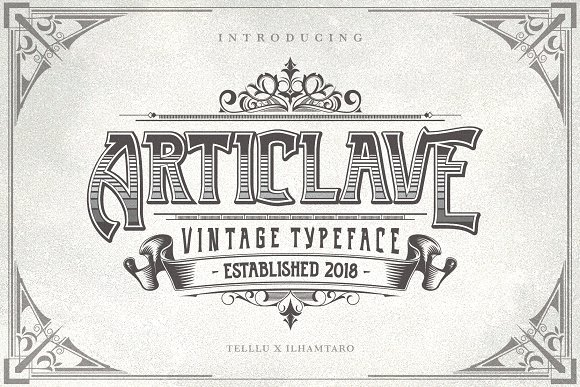 Articlave Font