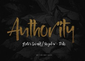 Authority Other Font
