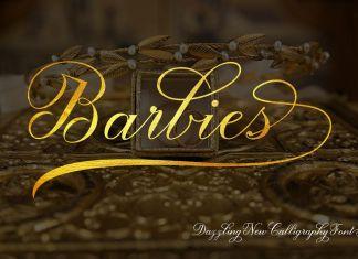 Barbies Script Font