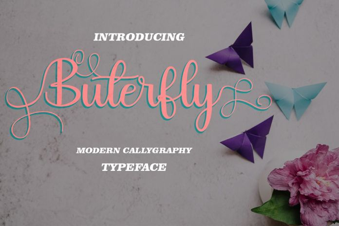 Buterfly Script Font