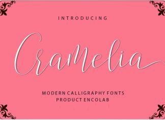 Cramelia Script Font