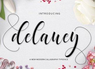 Delaney Script Font